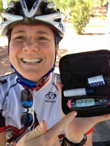 Riding in a Tour de Cure!