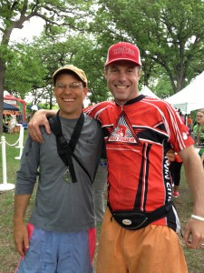 Charlie and Mari's Brother Marty at the Tour de Cure Twin Cities