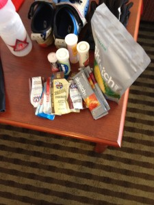 nutrition for 100 miles