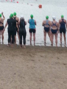 At the YWCA swim start.