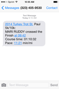 turkey trot 2014 results