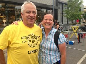 Greg LeMond & Mari