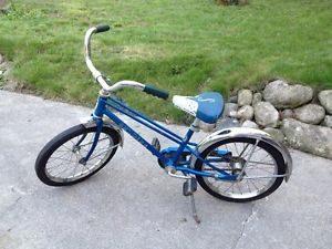 blue schwinn bike 1970