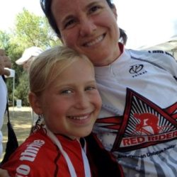 Eleni and I at a Tour de Cure a few years ago. We both still have diabetes.